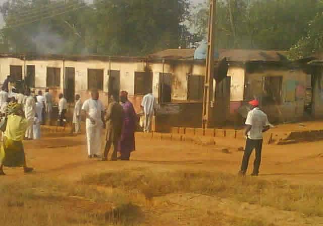 Fire at Kwara State Polytechnic